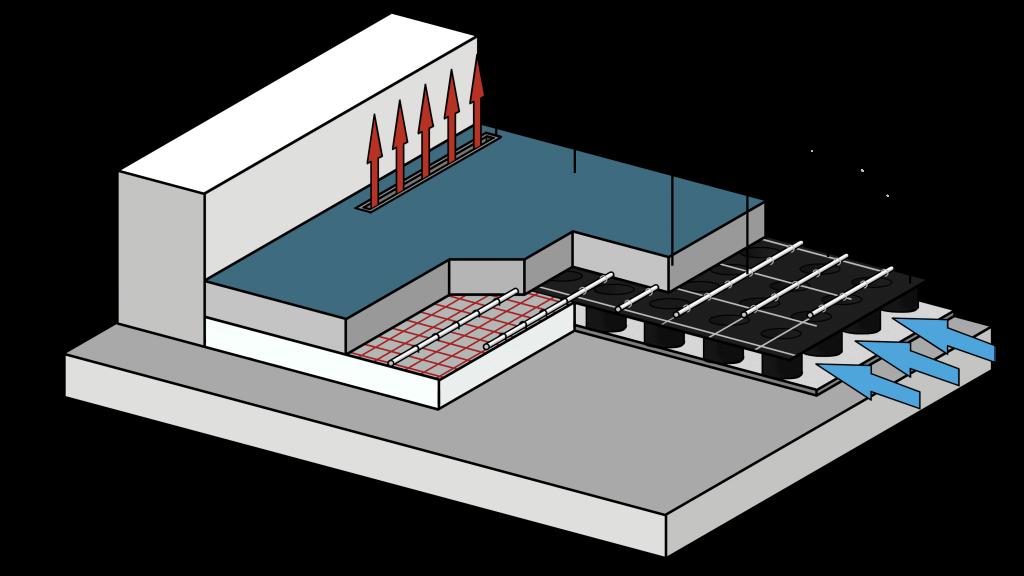 Vloeropbouw Ventilatievloer