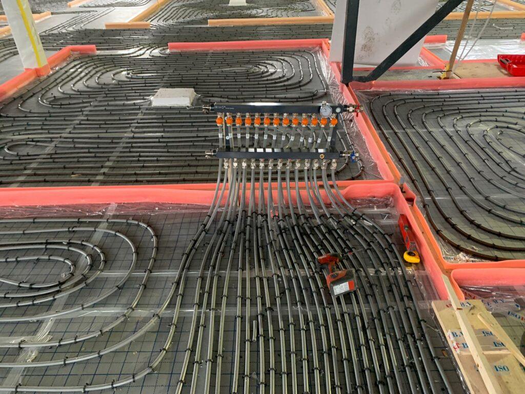 Tandarts en fysiopraktijk Deurne vloerverwarming