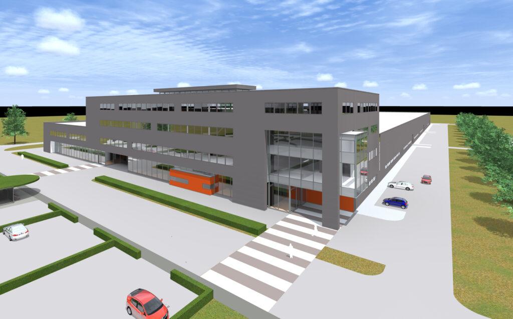 Nieuwbouw complex AWL te Harderwijk