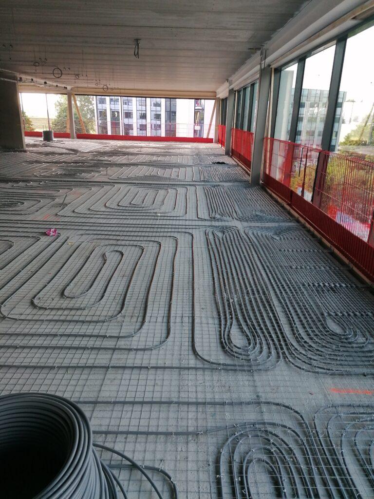Bergman Clinics vloerverwarming