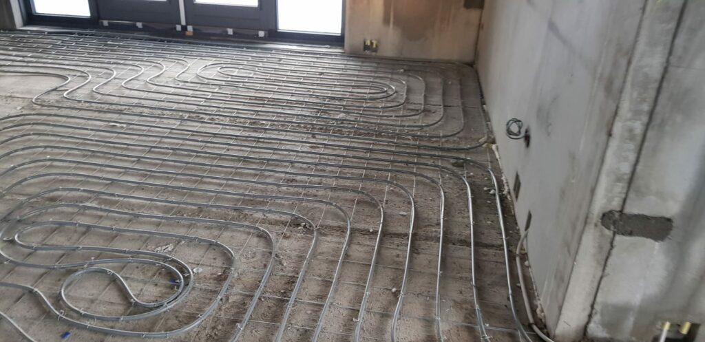 Hof van Soeren vloerverwarming